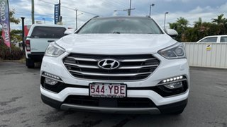 2018 Hyundai Santa Fe DM5 MY18 Highlander White Crystal 6 Speed Sports Automatic Wagon.