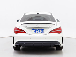 2017 Mercedes-AMG CLA45 117 MY17 4Matic White 7 Speed Automatic Coupe