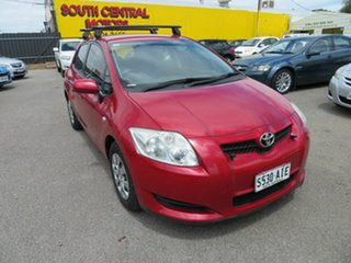 2009 Toyota Corolla ZRE152R Ascent Red 6 Speed Manual Hatchback.