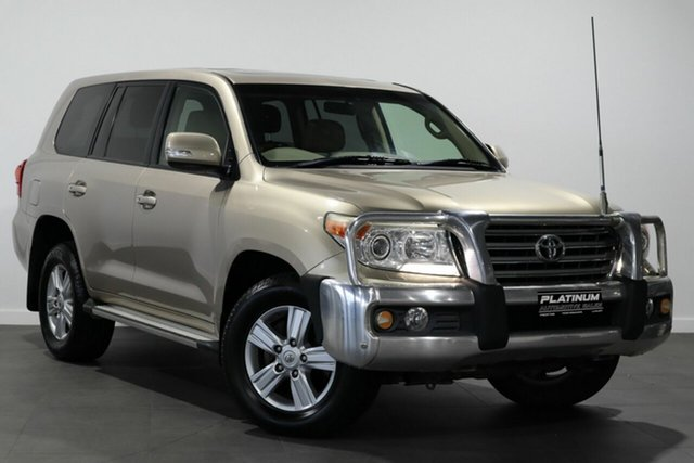 Used Toyota Landcruiser VDJ200R MY13 VX Bayswater, 2013 Toyota Landcruiser VDJ200R MY13 VX Gold 6 Speed Sports Automatic Wagon