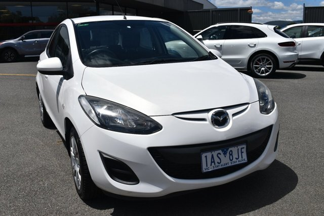 Used Mazda 2 DE10Y1 Neo Wantirna South, 2010 Mazda 2 DE10Y1 Neo White 4 Speed Automatic Hatchback