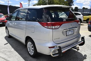 2016 Toyota Tarago ACR50R GLi Silver 7 Speed Constant Variable Wagon.