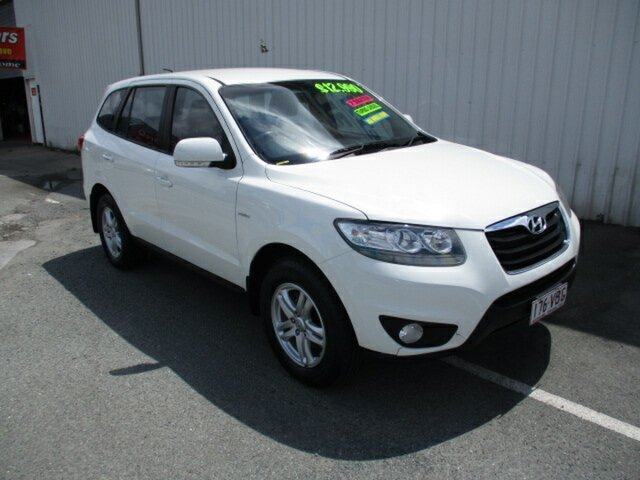 Used Hyundai Santa Fe Woodridge, 2010 Hyundai Santa Fe White 5 Speed Automatic Wagon