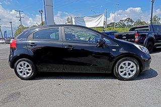 2014 Kia Rio UB MY14 S Black 6 Speed Manual Hatchback