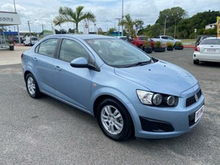2012 Holden Barina TM MY13 CD Blue 6 Speed Automatic Sedan