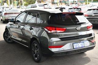 2020 Hyundai i30 PD.V4 MY21 Amazon Gray 6 Speed Automatic Hatchback.