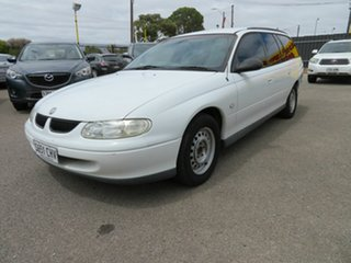 1997 Holden Commodore Acclaim White 4 Speed Automatic Wagon.