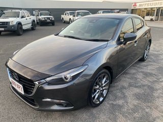2017 Mazda 3 BN5436 SP25 SKYACTIV-MT Astina Grey 6 Speed Manual Hatchback