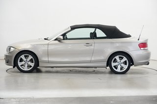 2008 BMW 125i E88 125i Gold 6 Speed Automatic Convertible.