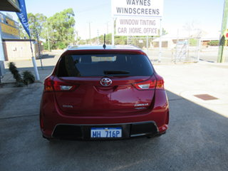 2013 Toyota Corolla ZRE182R Ascent Sport Red 7 Speed Automatic Hatchback