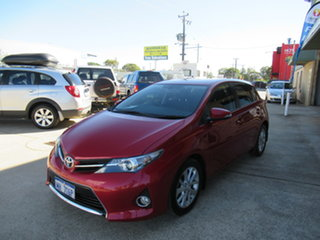 2013 Toyota Corolla ZRE182R Ascent Sport Red 7 Speed Automatic Hatchback.