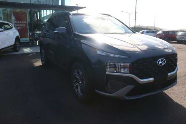 New Hyundai Santa Fe Tm.v3 MY21 Active DCT Springwood, 2020 Hyundai Santa Fe Tm.v3 MY21 Active DCT Lagoon Blue 8 Speed Sports Automatic Dual Clutch Wagon
