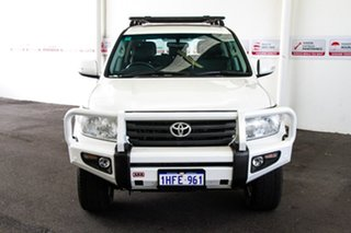 2012 Toyota Landcruiser VDJ200R MY12 Altitude Crystal Pearl 6 Speed Sports Automatic Wagon