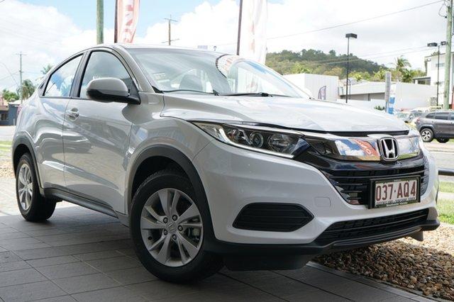 Demo Honda HR-V MY21 VTi Mount Gravatt, 2020 Honda HR-V MY21 VTi Platinum White 1 Speed Constant Variable Hatchback