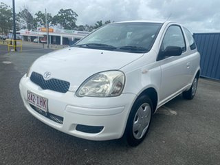 2004 Toyota Echo NCP10R MY03 White 4 Speed Automatic Hatchback