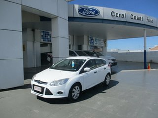 2012 Ford Focus LW Ambiente White 5 Speed Manual Hatchback.