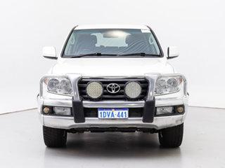 2011 Toyota Landcruiser UZJ200R Altitude SE White 5 Speed Automatic Wagon.