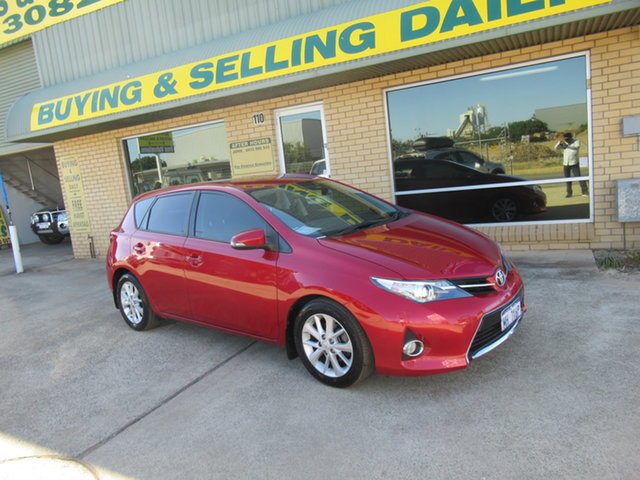Used Toyota Corolla ZRE182R Ascent Sport Mandurah, 2013 Toyota Corolla ZRE182R Ascent Sport Red 7 Speed Automatic Hatchback