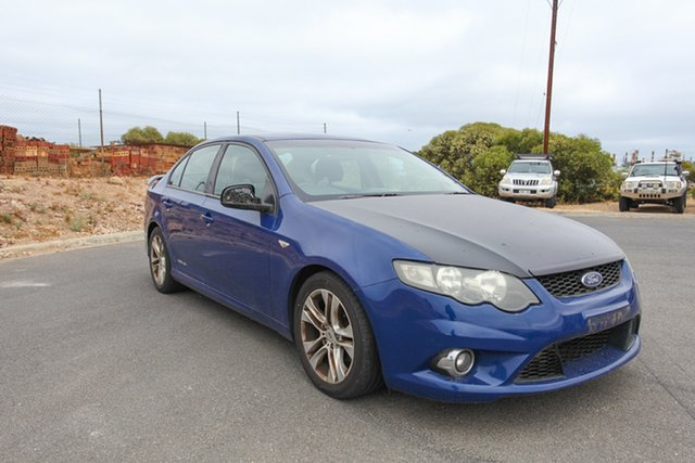 Used Ford Falcon FG XR6 Lonsdale, 2008 Ford Falcon FG XR6 Blue 5 Speed Sports Automatic Sedan