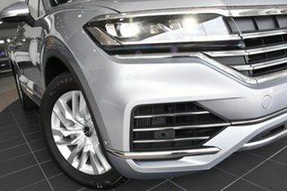 2020 Volkswagen Touareg CR MY21 170TDI Tiptronic 4MOTION Antimonial Silver Metallic 8 Speed.
