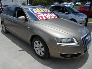 2005 Audi A6 4F Avant Multitronic Gold 1 Speed Constant Variable Wagon.