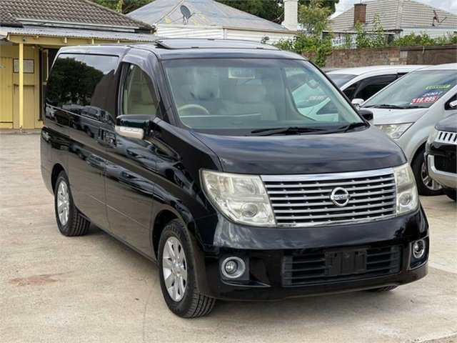 Used Nissan Elgrand E51 XL Silverwater, 2005 Nissan Elgrand E51 XL Black Automatic Wagon