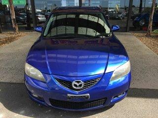 2008 Mazda 3 BK MY06 Upgrade Maxx Sport Blue 5 Speed Manual Sedan.