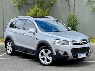 2013 Holden Captiva CG Series II MY12 7 AWD LX Silver 6 Speed Sports Automatic Wagon.