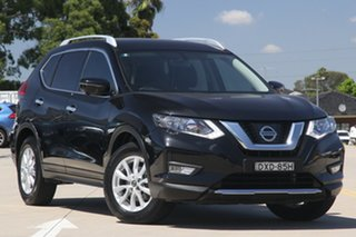 2018 Nissan X-Trail T32 Series 2 ST-L (4WD) Black Continuous Variable Wagon.