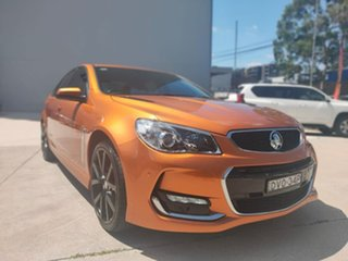 Holden Commodore VF II MY17 SS Orange 6 Speed Manual Sedan.