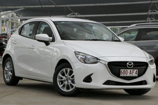 2017 Mazda 2 DJ2HAA Maxx SKYACTIV-Drive White 6 Speed Sports Automatic Hatchback.