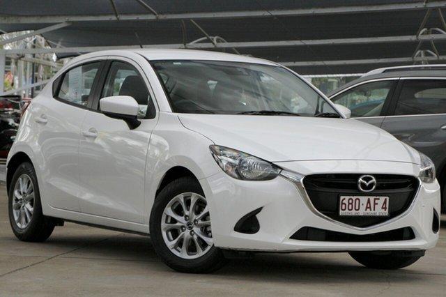 Used Mazda 2 DJ2HAA Maxx SKYACTIV-Drive Bundamba, 2017 Mazda 2 DJ2HAA Maxx SKYACTIV-Drive White 6 Speed Sports Automatic Hatchback