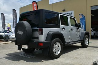 2010 Jeep Wrangler Unlimited JK MY09 Sport (4x4) Silver 4 Speed Automatic Softtop.