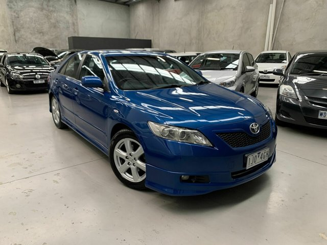 Used Toyota Camry ACV40R Sportivo Coburg North, 2007 Toyota Camry ACV40R Sportivo Blue 5 Speed Automatic Sedan