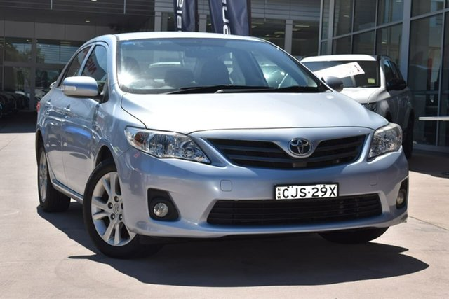 Used Toyota Corolla ZRE152R MY11 Ascent Sport Blacktown, 2011 Toyota Corolla ZRE152R MY11 Ascent Sport Silver 4 Speed Automatic Sedan