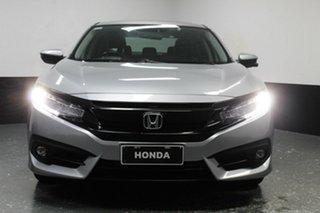 2016 Honda Civic 10th Gen MY16 RS Lunar Silver 1 Speed Constant Variable Sedan.