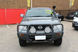 2011 Nissan Navara D40 ST (4x4) Grey 6 Speed Manual Dual Cab Pick-up.