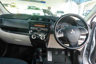 2013 Mitsubishi Mirage LA MY14 LS Silver 5 Speed Manual Hatchback