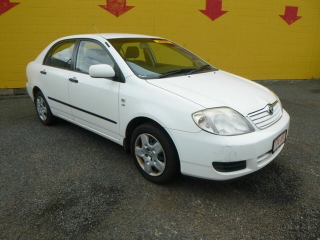 Used Toyota Corolla ZRE152R Ascent Winnellie, 2007 Toyota Corolla ZRE152R Ascent White 4 Speed Automatic Sedan