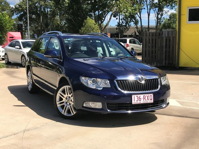 Used Skoda Superb 3T MY11 Elegance DSG 191FSI Toowoomba, 2011 Skoda Superb 3T MY11 Elegance DSG 191FSI Blue 6 Speed Sports Automatic Dual Clutch Wagon