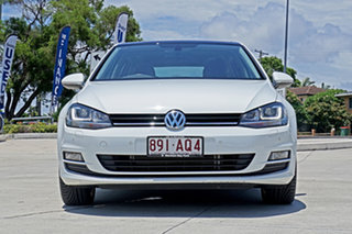 2015 Volkswagen Golf VII MY15 103TSI DSG Highline White 7 Speed Sports Automatic Dual Clutch.