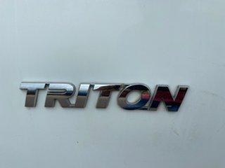 2010 Mitsubishi Triton MN MY10 GL 4x2 White 5 Speed Manual Cab Chassis