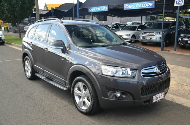 Used Holden Captiva CG MY13 7 CX (4x4) Toowoomba, 2013 Holden Captiva CG MY13 7 CX (4x4) Grey 6 Speed Automatic Wagon