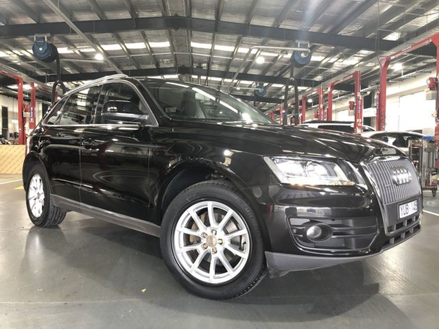 Pre-Owned Audi Q5 8R MY12 TFSI Tiptronic Quattro Oakleigh, 2012 Audi Q5 8R MY12 TFSI Tiptronic Quattro Black 8 Speed Sports Automatic Wagon
