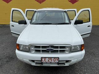 2000 Ford Courier White 5 Speed Manual Dual Cab.