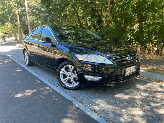 Pre-Owned Ford Mondeo MC Zetec PwrShift TDCi Hawthorn, 2012 Ford Mondeo MC Zetec PwrShift TDCi Black 6 Speed Sports Automatic Dual Clutch Hatchback