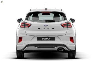 2020 Ford Puma JK 2020.75MY ST-Line White 7 Speed Sports Automatic Dual Clutch Wagon
