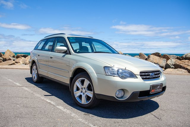 Used Subaru Outback B4A MY04 R AWD Premium Pack Lonsdale, 2004 Subaru Outback B4A MY04 R AWD Premium Pack Gold 5 Speed Sports Automatic Wagon