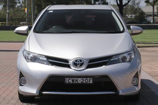 2014 Toyota Corolla ZRE182R Ascent Sport S-CVT Silver Metallic 7 Speed Constant Variable Hatchback
