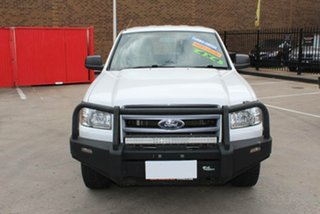2007 Ford Ranger PJ XL (4x4) White 5 Speed Manual Dual Cab Pick-up